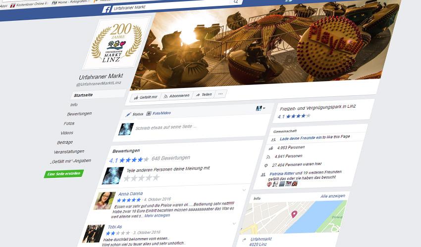 Der Urfahranermarkt auf Facebook