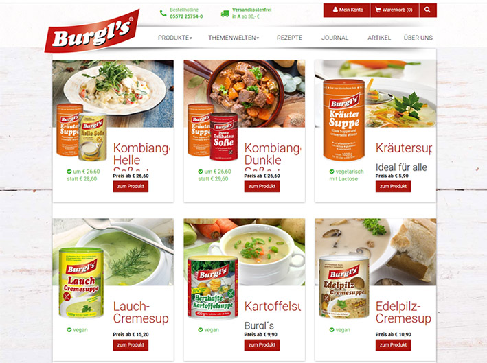 Burgis Suppen